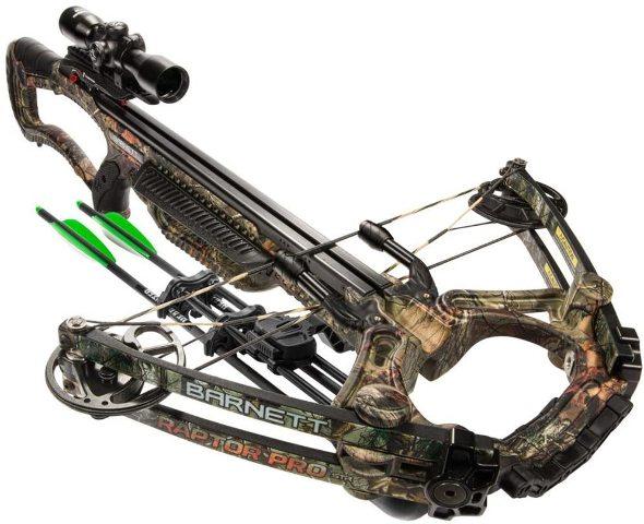Barnett Raptor Pro Str Crossbow Realtree Camo Bar78005
