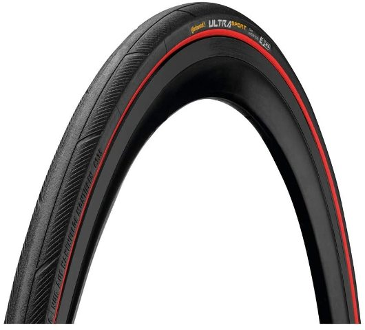 Ultra Sport Iii 662x25 Black/Red Folding Puregrip