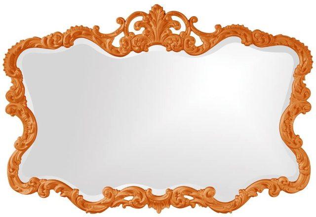 Howard Elliott 21183o Talida Mirror, Orange