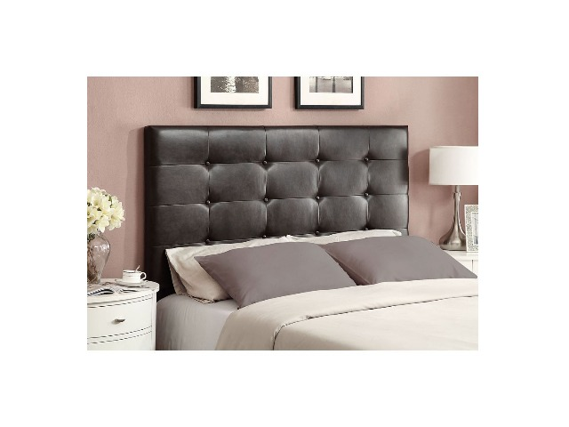 Inspirations by Broyhill Queen Upholstered Headboard - Bomber Brown