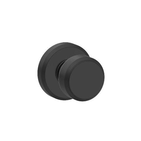Schlage F170 Bwe 622 Gsn Greyson Collection Bowery Dummy Trim Knob, Matte Black