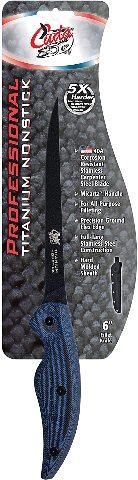 """Cuda 6"""" Titanium Non-Stick Professional Fillet Knife (18125)"""