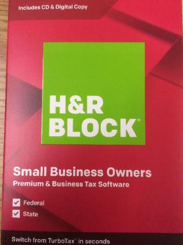 H&R Block - 2019 Premium & Business Tax Software - Mac, Windows