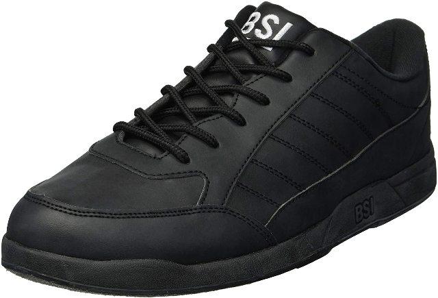 Size 7.5 BSI Men's Basic #521 Bowling Shoes, Black