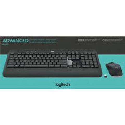 Logitech 920-008671 Mk540 Wireless Keyboard Mouse Combo