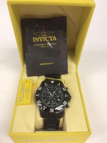 Invicta ILE6412A Men's Pro Diver Limited Edition Black