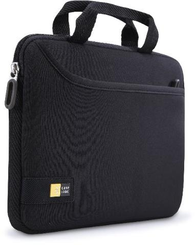"Case Logic iPad/10"" Tablet Attaché with Pocket - Black (TNEO-110)"