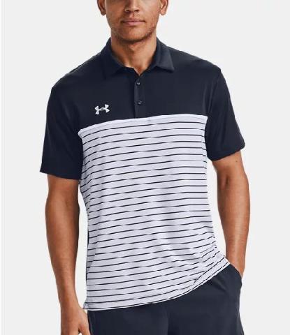 Men's UA Stripe Mix-Up Polo