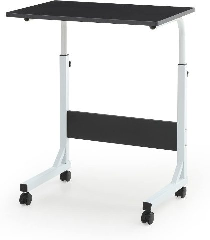 Hodedah HIS858 BLACK Wood Top Laptop Desk
