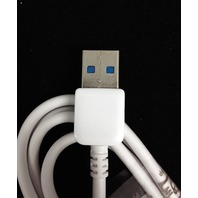Samsung Galaxy S5 and Note 3 USB charging cable - white