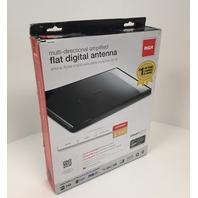 Rca Ant1650f Flat Digital Amplified Indoor Tv Antenna