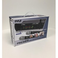 PylePro PDWM3375 Premier Series Professional 2-Channel UHF Wireless Microphone
