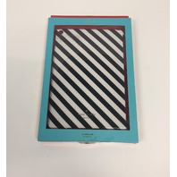 kate spade new york - Snap-On Case for Apple iPad Air - Black/Cream