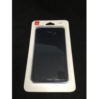 Silicone Cover fits Samsung Galaxy S6 edge Plus - Matte Black