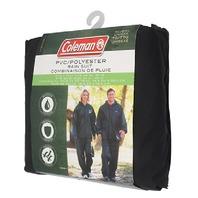 Coleman Pvc/Nylon Rainsuit3xl/4xl Black