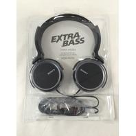 Sony MDR-XB250 Extra Bass Headphones Black