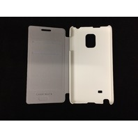 Case-Mate 4032D Case-Mate Samsung Galaxy Note Edge White Stand Folio