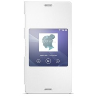 Sony SCR24 Style Up Cover for Xperia Z3 - White