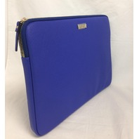 """Kate Spade 13"""" Saffiano Sleeve for small laptops and Surface Pro 3 4, Blue"""