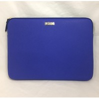 "Kate Spade 13"" Saffiano Sleeve for small laptops and Surface Pro 3 4, Blue"