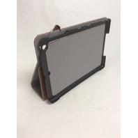 FYY - iPad Mini  Folio Leather Case with Smart Auto Sleep/Wake Feature Brown