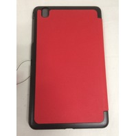 FYY -Samsung tab Pro 8.4 Folio Leather Case-Red