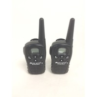 Midland LXT118 22-Channel GMRS with 18-Mile Range, E Vox and Channel Scan (Pair)