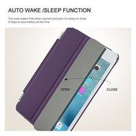 BESDATA Ultra Thin Magnetic Smart Cover Apple iPad Mini 4  Purple