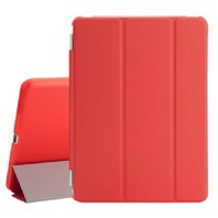 BESDATA Ultra Thin Magnetic Smart Cover ( iPad 2 / 3 /pro 9.7(Red)