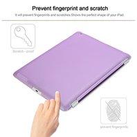Besdata  Magnetic Smart Cover Apple iPad 2 / iPad 3 / iPad 4 - Purple