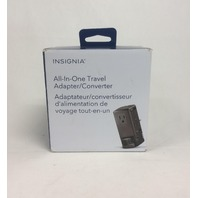 Insignia All-in-one Travel Adapter/converter Ns-mta1875-c