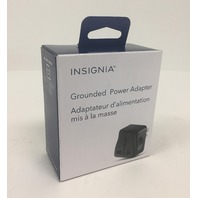 Insigina Grounded Power Adapter - Ns-tplugna-c