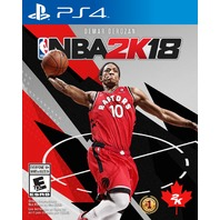 NBA 2K18 Standard Edition PS4 - Canadian version - SEALED