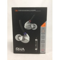 RHA T20i High Fidelity, Dual Coil In-Ear Headphone