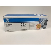 Genuine HP 36A (CB436A) Black Original Toner Cartridge - SEALED