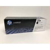 Genuine HP 35A (CB435A) Black Original Toner Cartridge - SEALED
