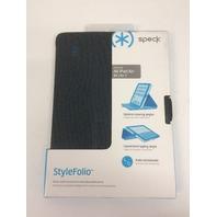 Speck StyleFolio Case 71948-C117 or iPad Air/Air 2,RattleSkin Grey/BLUE
