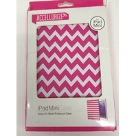 Accellorize IPad Mini Case - Pink Chevron