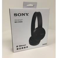 Sony Wireless Over-Ear Headphones with Bluetooth - Black WH-CH500