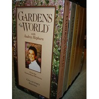 Gardens of the World VHS Video Set(6) Hosted By Emmy Award winner Audrey Hepburn