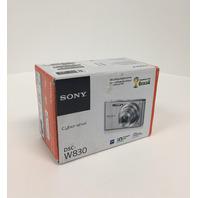 Sony DSC DSCW830B Cyber-Shot Digital Camera Point & Shoot, Black