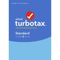 TurboTax Standard 2017, 8 returns, bilingual - Canada