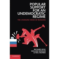 Popular Support for an Undemocratic Regime The Changing Views of Russians