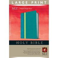 Personal Size NLT, Large Print TuTone