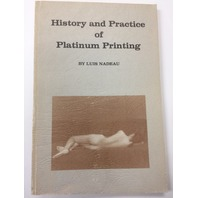 history and practice of platinum Printing