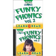 Funky Phonics: Learn to Read, Vol. 2 (Book & CD) (Sara Jordan Presents)