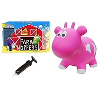 Farm Hoppers - Cow - Pink