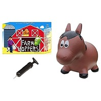 Farm Hoppers - Horse - Brown