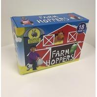 Farm Hoppers - Rabbit - Gray