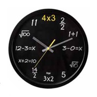 Ergo Clock - Math 1 plus 1